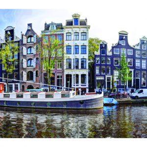 Prinsengracht 322 Amsterdam in de Herfst van 2017