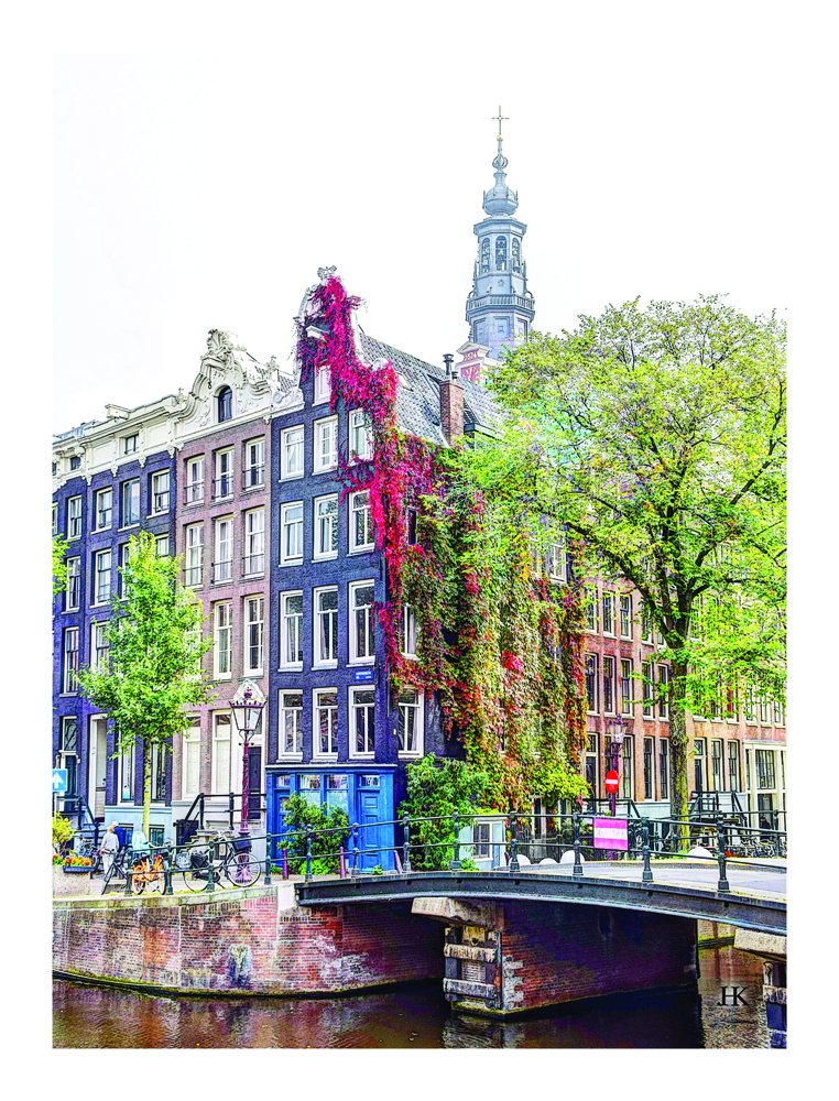 Kloveniersburgwal 60 Amsterdam, Zicht op Zuiderkerk