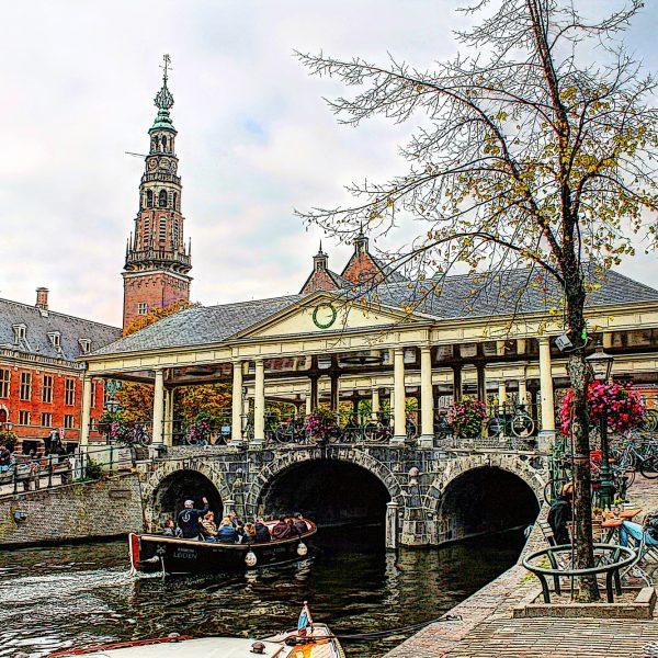 Koornbrug Stadhuis Leiden