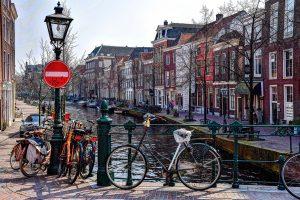 Sint Jansbrug Oude Rijn Leiden