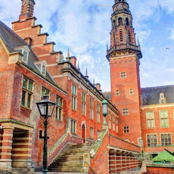 Stadhuis Leiden Nederland